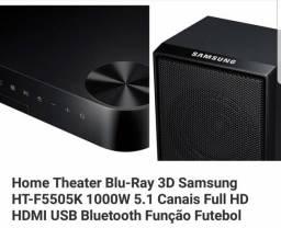 Home Theater Samsung 3D HT-F5505K Blu-Ray