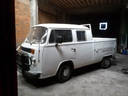 Kombi gabine dupla a diesel, ano 82 - 1982