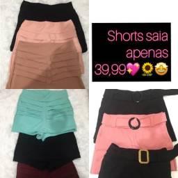 Shorts saia tam M
