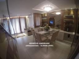 Linda Casa duplex em condomínio, projetada e com lazer. Preço campeão!