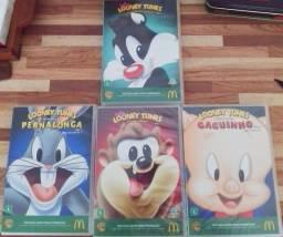 Coleção DVDs Looney Tunes novo+ brinde