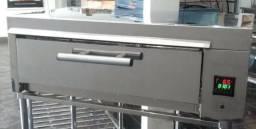Forno eletrico medio - digital instale - inoxminas