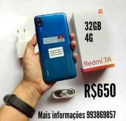 Redmi 7A 32GB novo azul