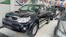 $ Toyota Hilux SRV Turbo Diesel 4x4 2011 Automática - Completa + Couro - 2011