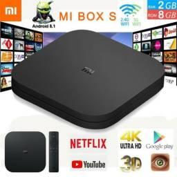 Tv Box Xiaomi Mi Box S Android Tv 4k Ultra Hd