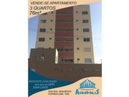 Apartamento no Condomínio Acrópolis 3 quartos 76 m2 Ininga Zona Leste Prox Ufpi
