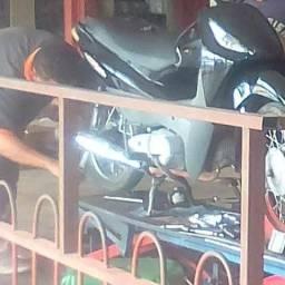 Trabalho com motos