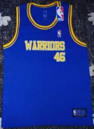 Camiseta Golden State Warriors Retrô Nova