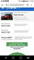 Fiat Punto Tel. 22 997554468 pode passar zap - 2011