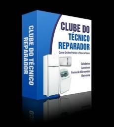 Curso para consertar, geladeira,microondas,lavadoras e eletrônica para reparo
