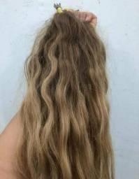 Cabelo humano com ombre hair