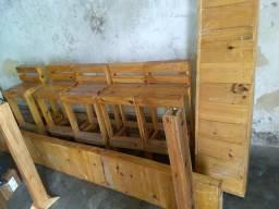 Bancada em madeira para lanchonete e Conviniencia