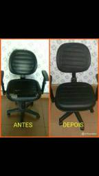 Conserto e reformo cadeiras