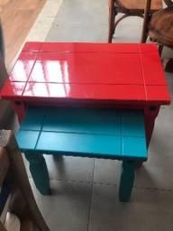 Mesas lateral ou de centro
