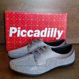 Sapato Feminino Piccadilly Originais - 2 Cores - Fazemos Entregas