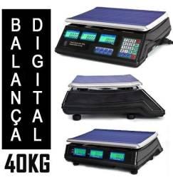 Balança Digital 40Kg Bivolt - Com Bateria - Alta Precisão - NOVA