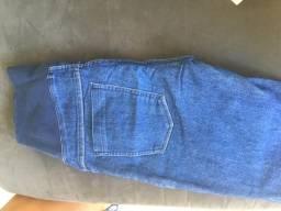 Calça Jeans p Gestante n 38