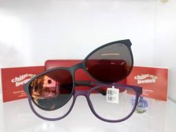 eba2f143d49fa Armação de óculos Receituário com Clip Solar Chilli Beans