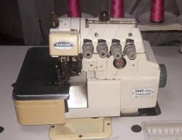 Vendo Maquina de Costura Interlock Industrial Singer!