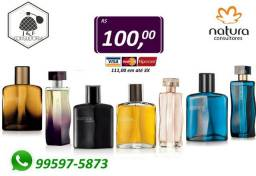 Perfume Essencial Natura 100ml - Originais e Lacrados