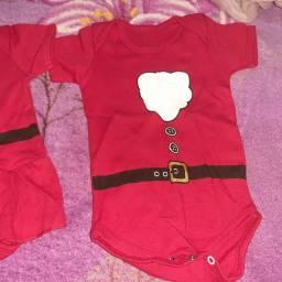 Roupinhas de Natal para bebês menina e menino