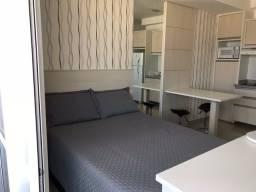 Studio no centro mobiliado 33 m2 - 27 andar com 1 vaga de garagem. Sem vaga R$ 1.140,00