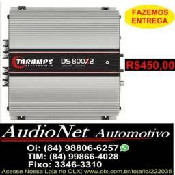 Potencia Taramps 800w Rms 2 Canais Ds800 2 Ohms Ds800x2 Modulo Amplificador comprar usado  Natal