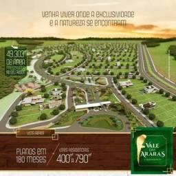 Lote Condomínio Vale das Araras em Rio Verde-GO