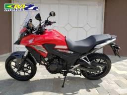Honda CB 500 X 2019 Vermelha com 2.300 km - 2019