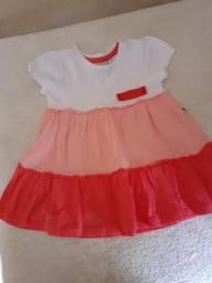 Lotinho p/ bb de 0 a 3 meses (8 vestidos semi novos)