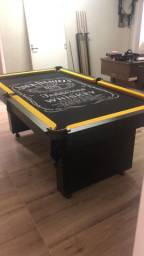 Título do anúncio: Mesa de Bilhar Encanto Preta Tx Personalizada Modelo KSS4785