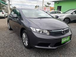 Civic LXS manual 1.8 16/16 bco couro