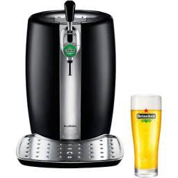 Chopeira Beertender Krups Heineken com Capacidade de 5 Litros Preto