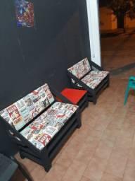 Arte em madeira novos jogos de sofa com três peças na sua cor preferida 380
