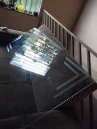 Tampo de  vidro pra mesa *)