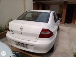 Prisma sedan branca 2008