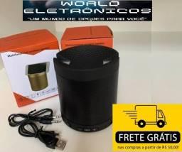 Caixinha De Som Bluetooth Q3 Usb Mp3 Aux Com Suporte Celular