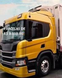 Scania P320 bitruck refrigerado 2019 com entrada e parcelas agregado