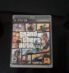 Vendo ou troco GTA V de PS3