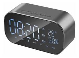 Radio Relogio Digital 30w Rms Hoopson Clock 01 - Loja Natan Abreu