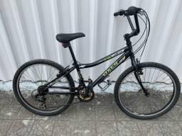 Bicicleta infantil juvenil Oxer câmbio shimano Aro 24