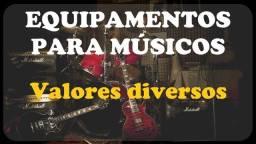 Pedais, efeitos, simuladores, Guitarra, baixo, violão
