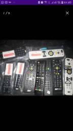Controles pra tvs,dvd,box e sky novos(faço entrega)