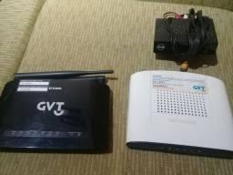 Roteador Wi-Fi e Conversor