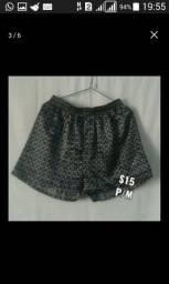 Lote de shorts e cuecas /6 peças