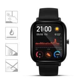 Título do anúncio: Película protetora de tela de gel comum e 3D para relógio inteligente P8