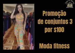 Título do anúncio: Conjunto fitness feminino