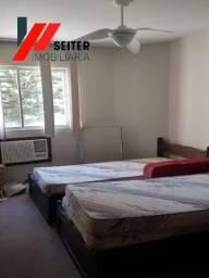 apartamento de 3 dormitorios mobiliado
