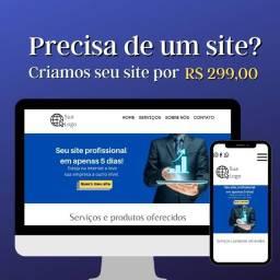 Título do anúncio: Criação de sites para negócios