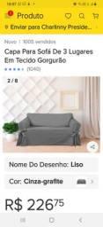 Vendo capa para sofá nova
